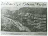 "1954 Tennesseean newspaper article remembering Wilder titled ""Reminders of a By-Passed..."